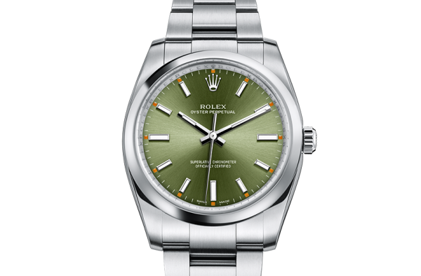 bedst rolex Oyster Perpetual østers 34mm stål 114200