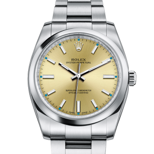 godt rolex Oyster Perpetual østers 34mm stål 114200