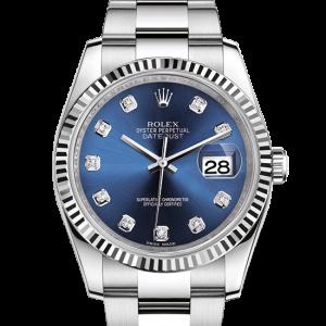 Perfekt rolex Datejust østers 36mm stål og hvidguld 116234