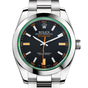 top rolex Milgauss østers 40mm stål 116400GV