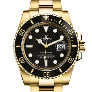 top rolex Submariner østers 40mm gul guld 116618LN