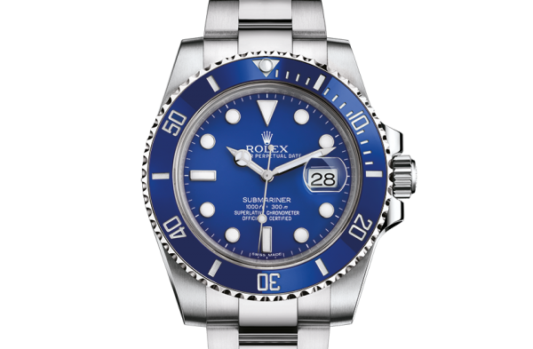 Perfekt rolex Submariner østers 40 mm hvidguld 116619LB