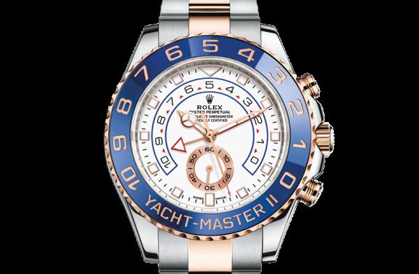 bedst rolex Yacht-Master østers 44mm stål og rosenguld 116681