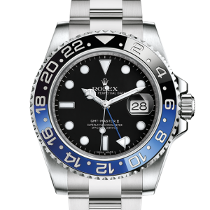 falsk rolex GMT-Master II østers 40mm stål 116710BLNR