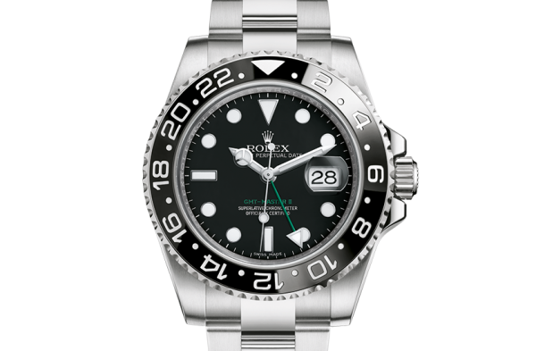 kopi rolex GMT-Master II østers 40mm stål 116710LN