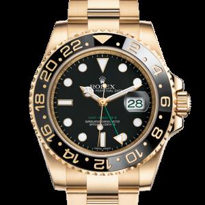 salg rolex GMT-Master II østers 40mm gul guld 116718LN