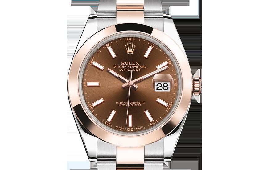 kopi rolex Datejust østers 41mm stål og rosenguld 126301 – Schweiziske replika rolex ure