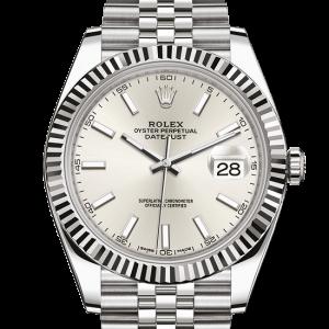 bedst rolex Datejust østers 41mm stål og hvidguld 126334