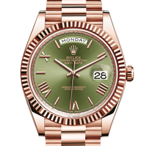 replika rolex Day-Date østers 40mm rosenguld 228235