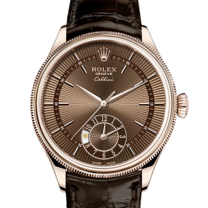 rabat rolex Cellini 39 mm 18 ct rose guld 50525