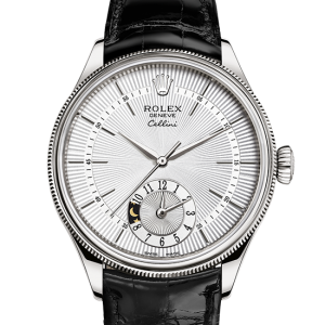 top rolex Cellini 39mm 18 ct hvidguld 50529
