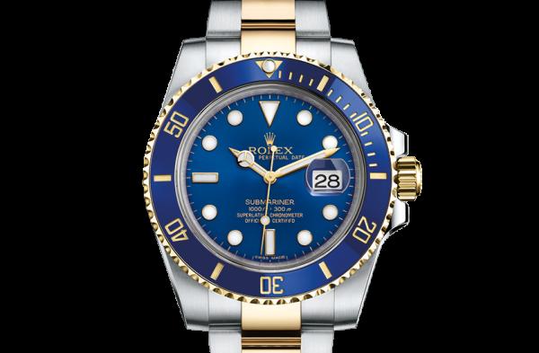 billig rolex Submariner østers 40mm stål og gul guld 116613LB